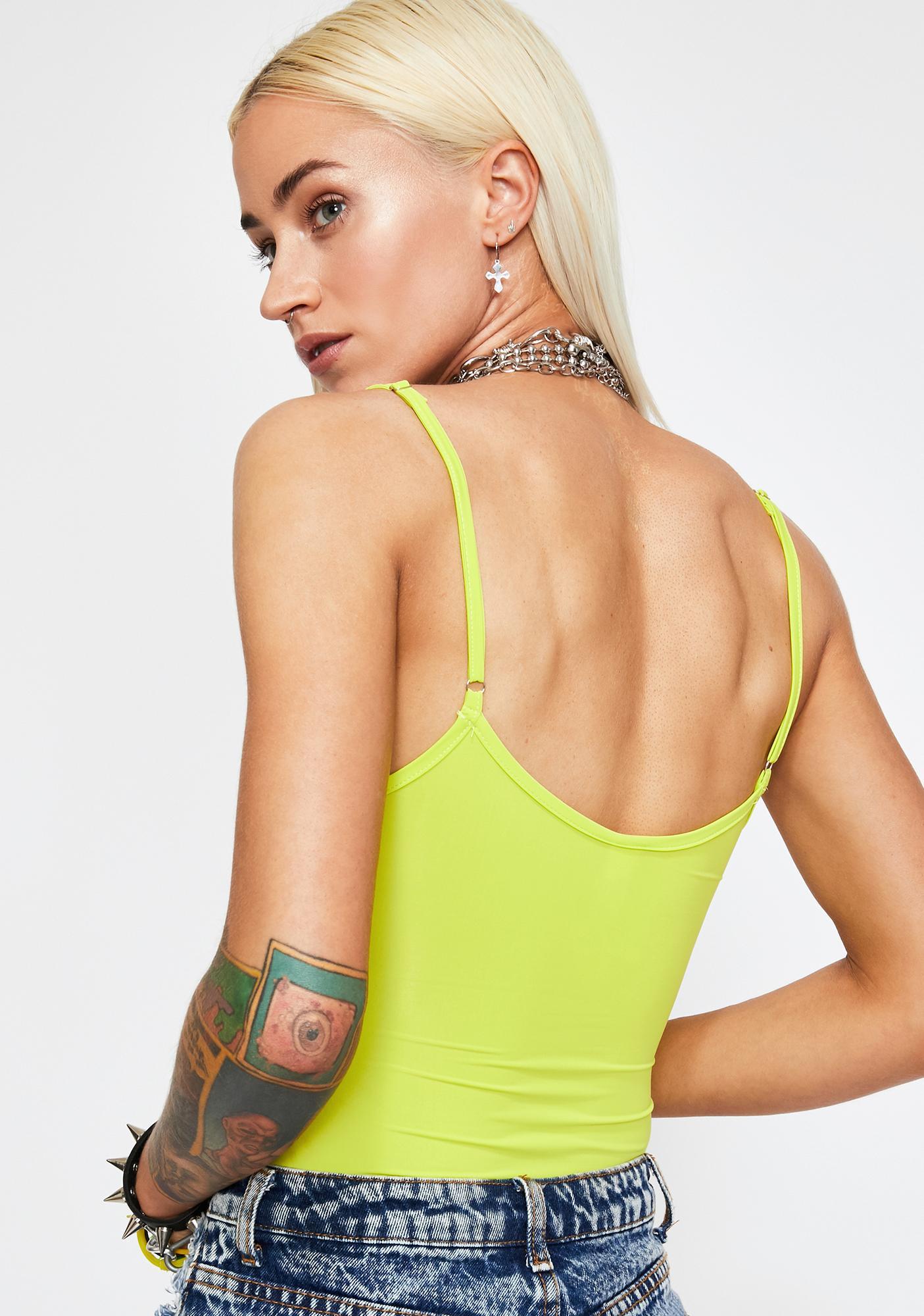 Electro Joy Cut Out Bodysuit