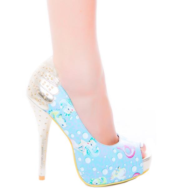 Iron Fist Lollipop Lorelei Peep Toe Platform