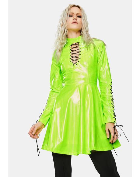 Punk Glitzy Sexy Dress