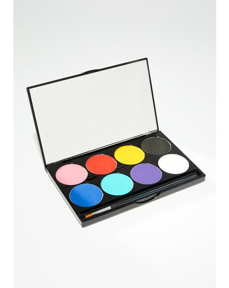Mehron Face & Body Paint Palette