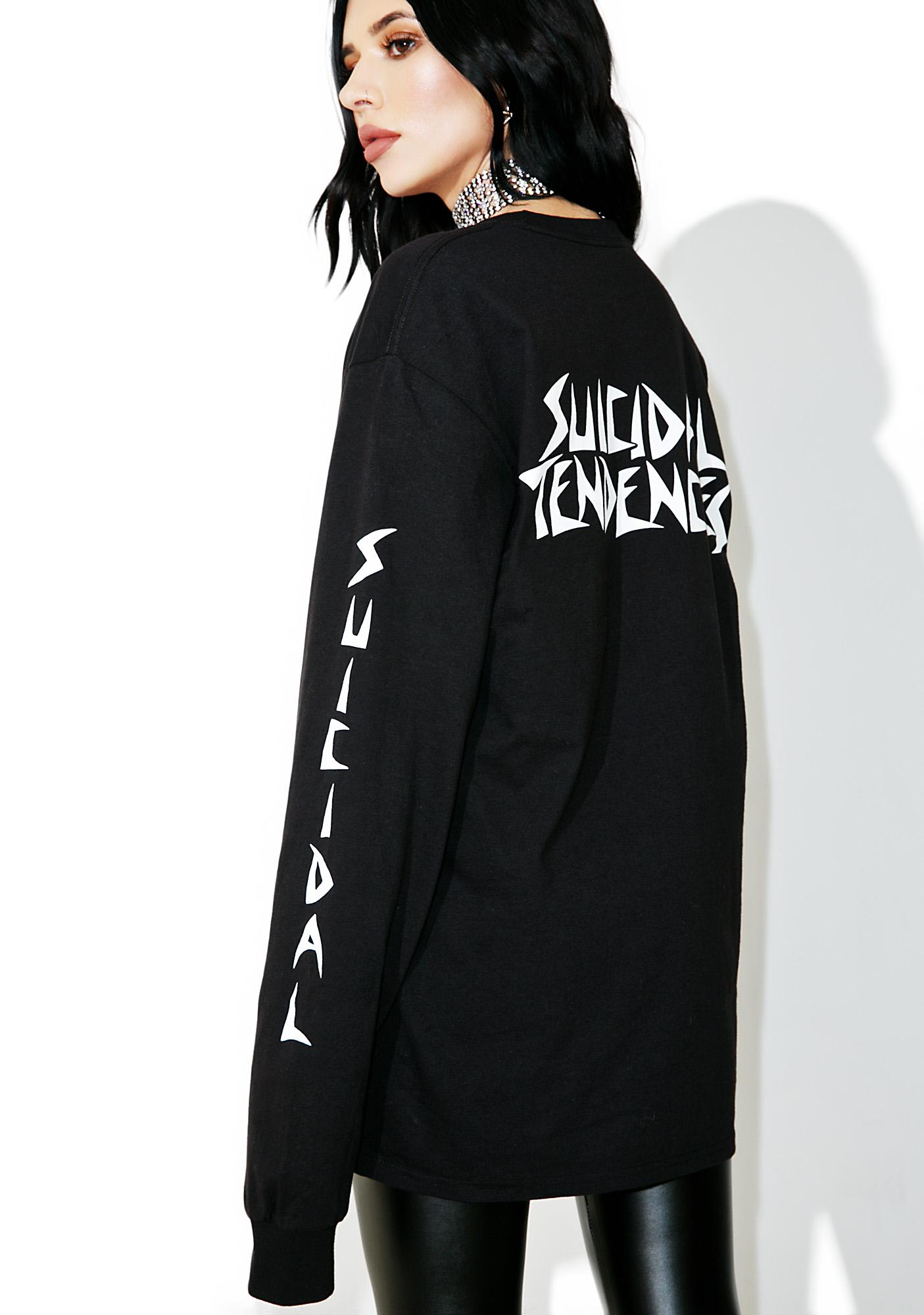 Suicidal Tendencies World Gone Mad Long Sleeve Tee