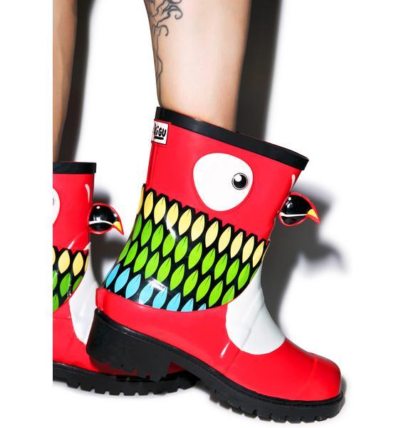 Juju Shoes Parrot Rain Boots
