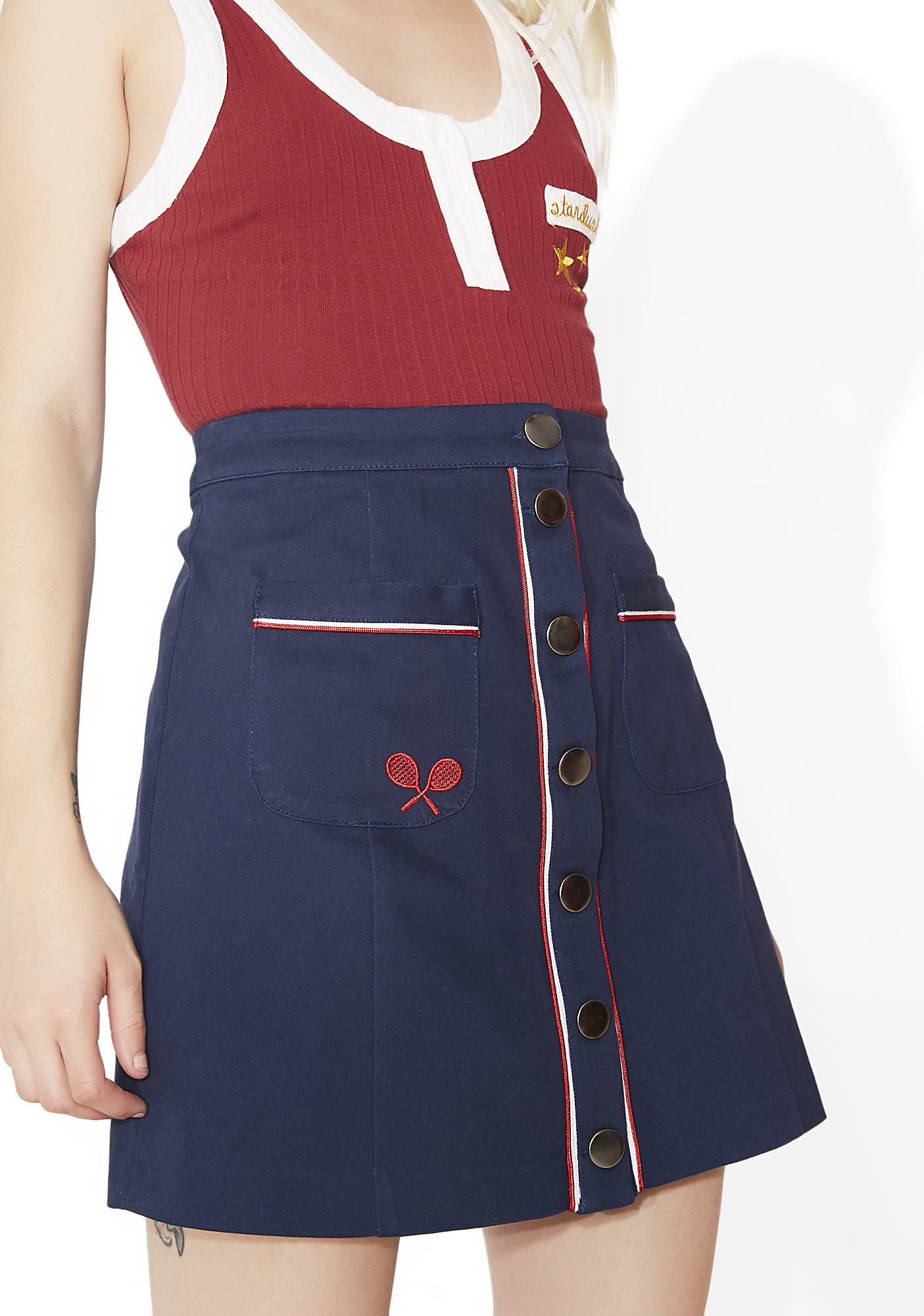 Camp Collection Mixed Doubles Skirt