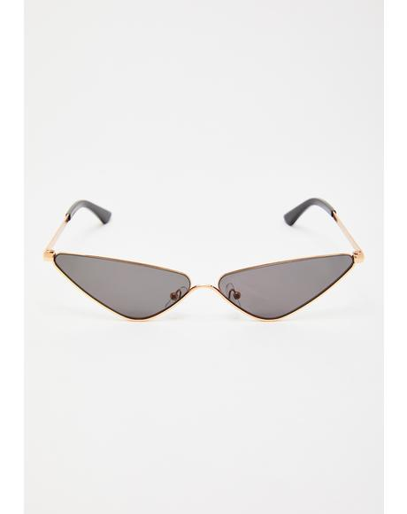 Flytrap Kween Cat Eye Sunglasses