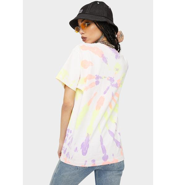 Obey Tropical Trouble Tie Dye Tee