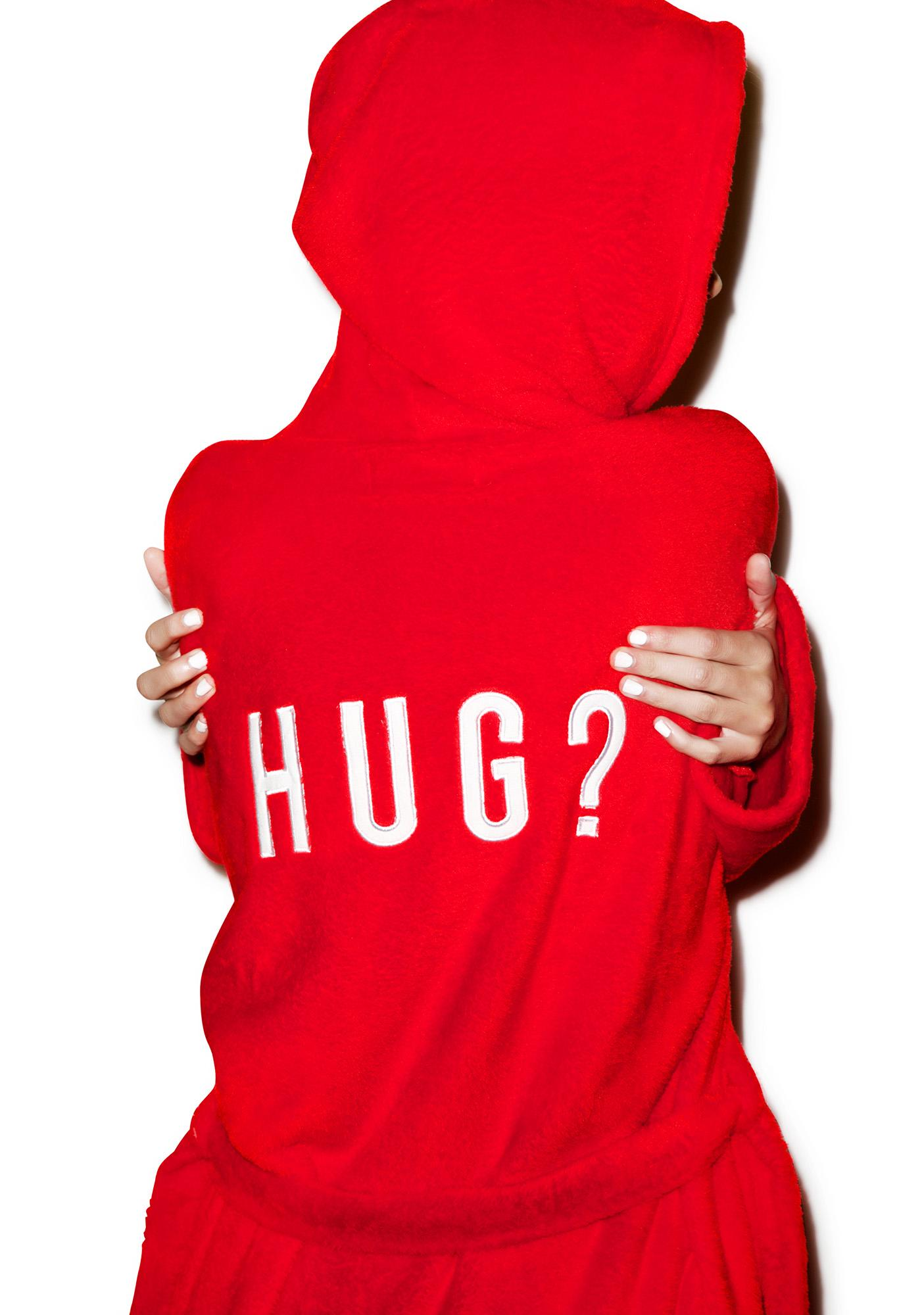 Mink Pink Need A Hug Robe