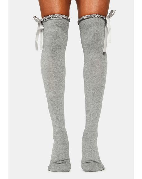 Absolute Perfection Thigh High Socks
