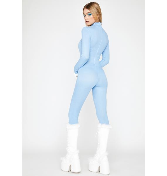 Sky Can't Fight It Ribbed Catsuit