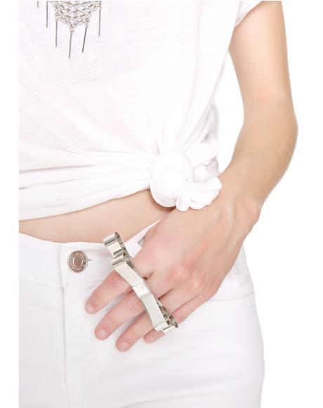 Nimble Double Finger Ring