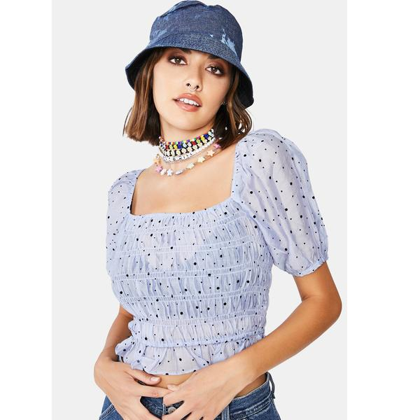 Magic Moment Ruched Top