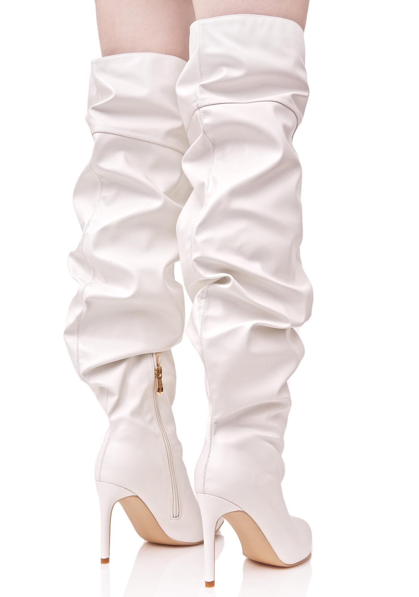 Meet My Demandz Slouchy Boots