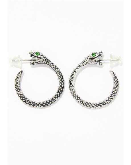 Get Serpent Earring
