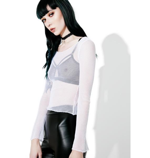 American Deadstock Uncensored Mesh Top