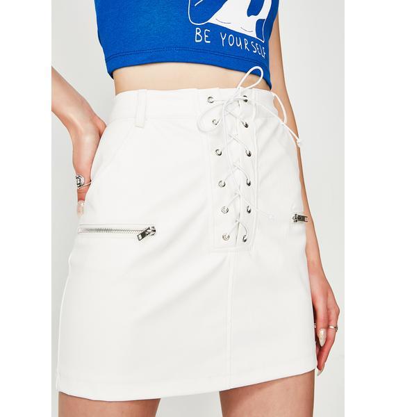 On My Level Mini Skirt