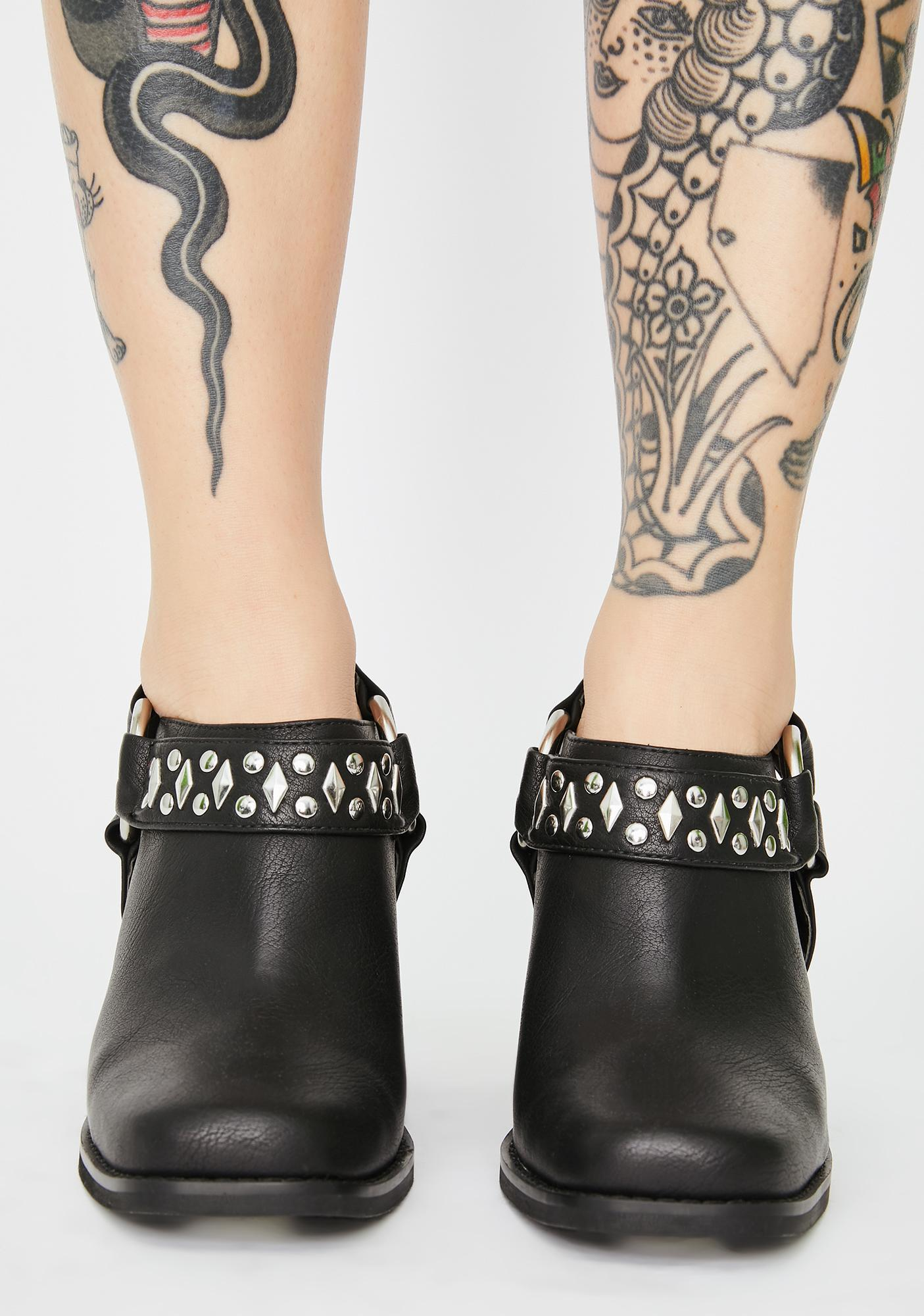 Current Mood Double Kick Studded Heels