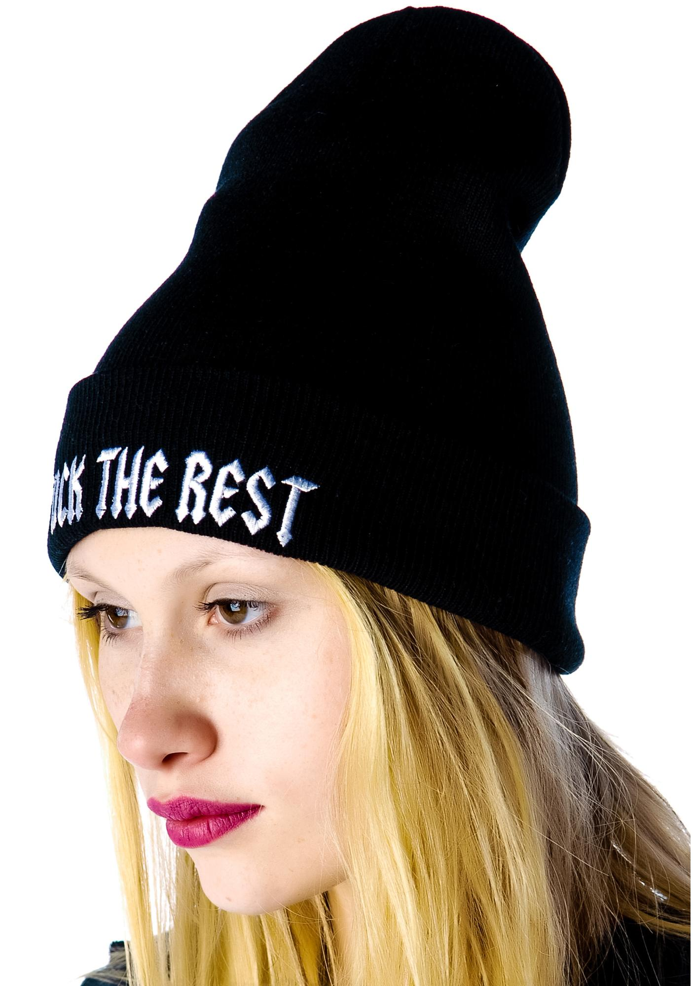 HLZBLZ x Belle of the Brawl F the Rest Beanie