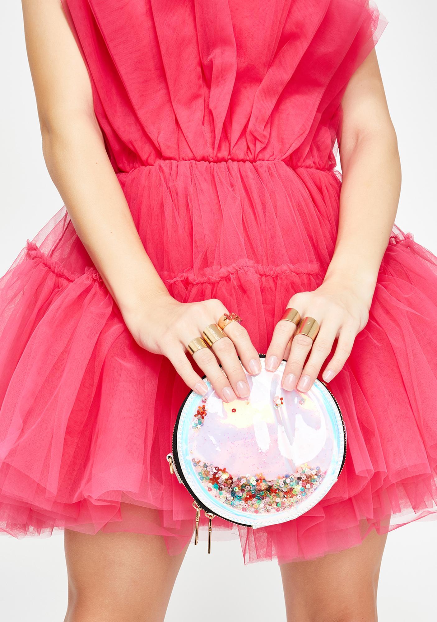 Dreamland Princess Confetti Crossbody