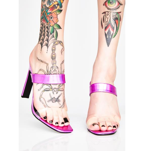 Pink Diamonds Sweet Talker Heels