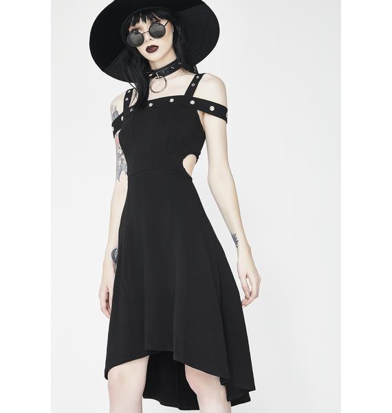 Tripp NYC Grommet Hi Lo Dress