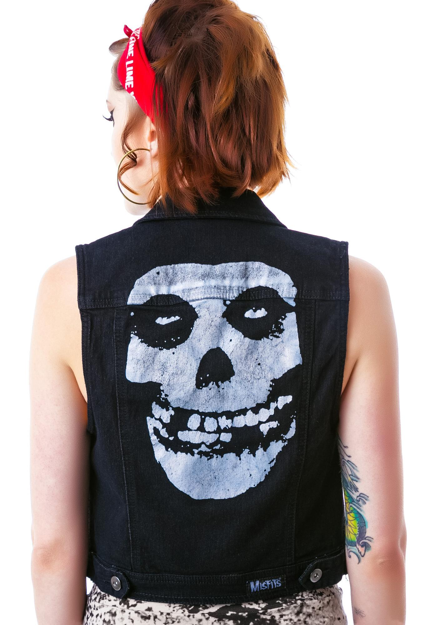 Iron Fist Misfits Denim Vest