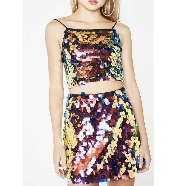 Motel Lush Wyne Skirt