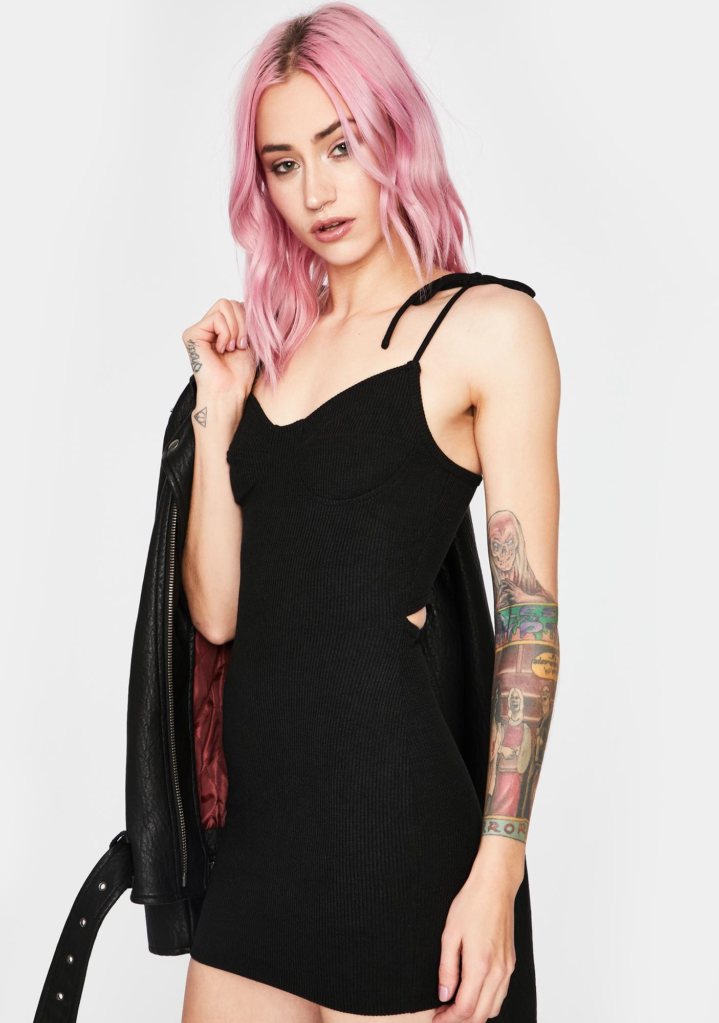 Explicit Exchange Mini Dress