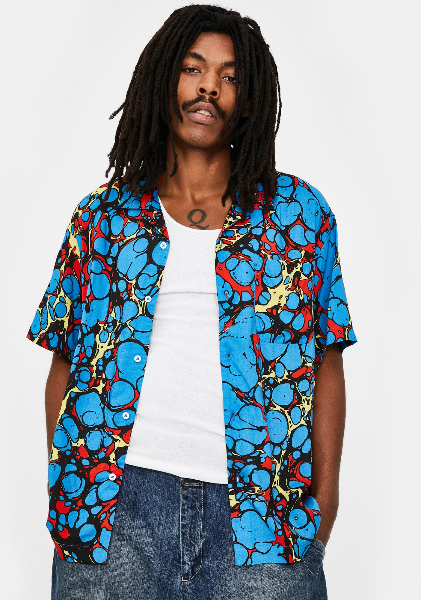 Obey Botched Woven Shirt