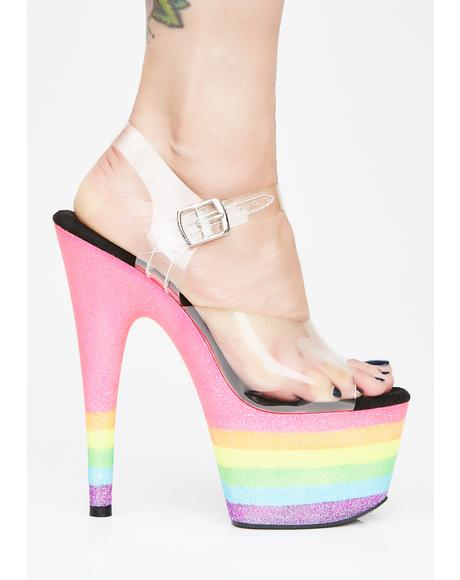 Freaky Fembot UV Heels