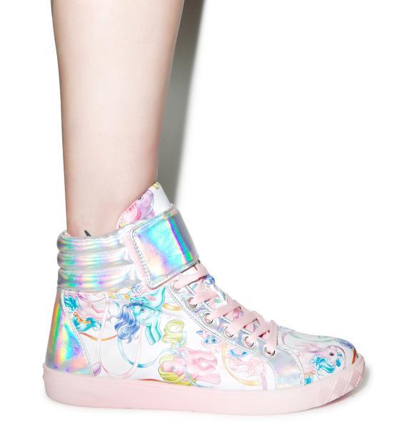 Iron Fist My Little Pony Merry Go Round Sneakers