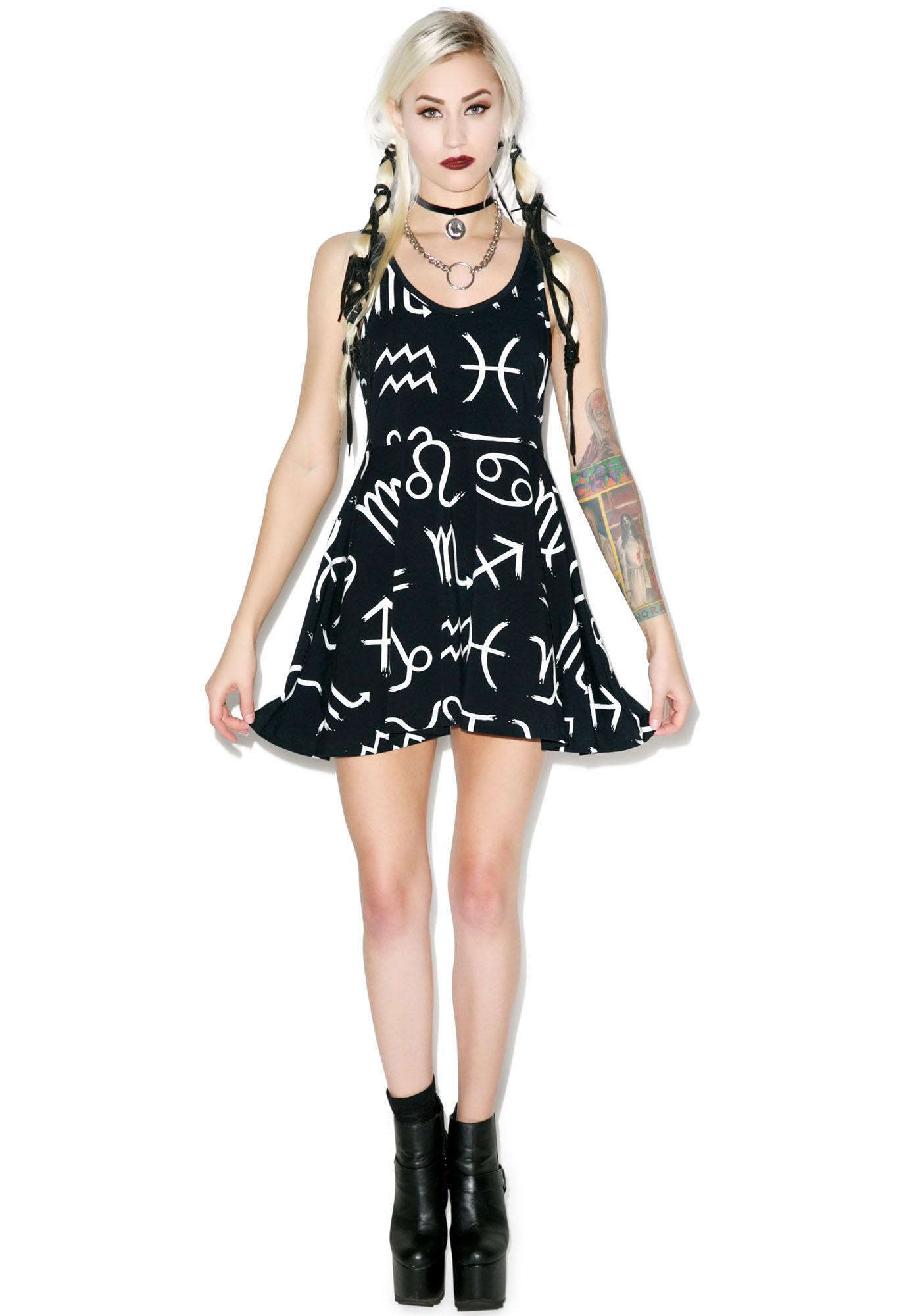 Killstar Zodiac Nu Skater Dress