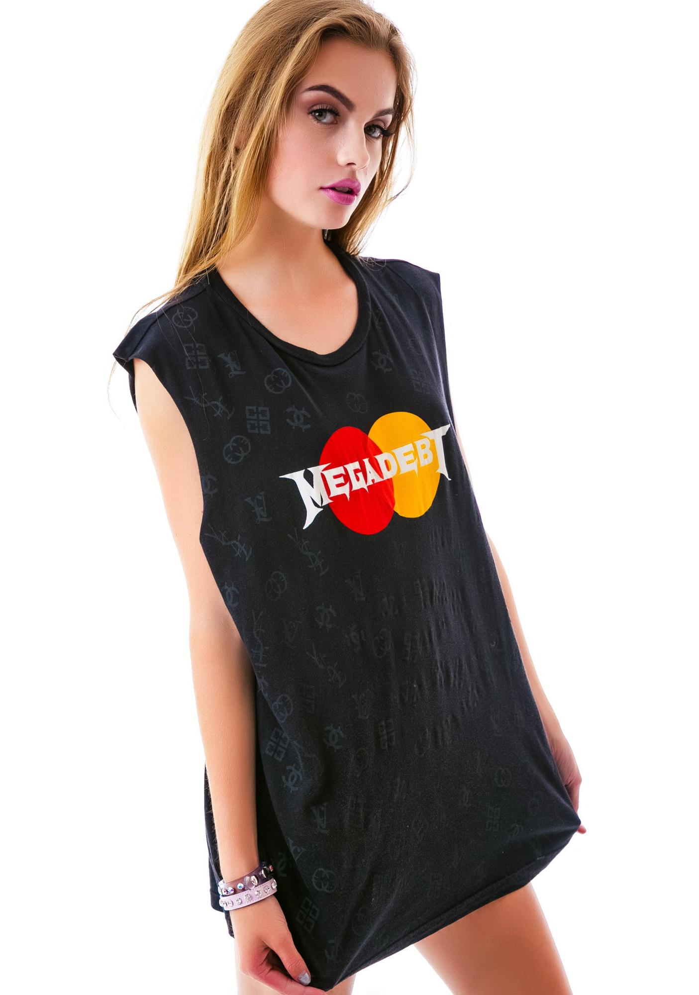 24HRS MEGADEBT Sleeveless Tee