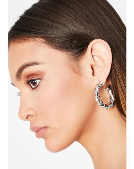 Did That Hoop Earrings