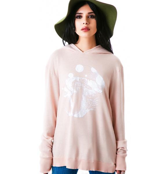 Wildfox Couture Magic Mushroom Gypsy Hoodie