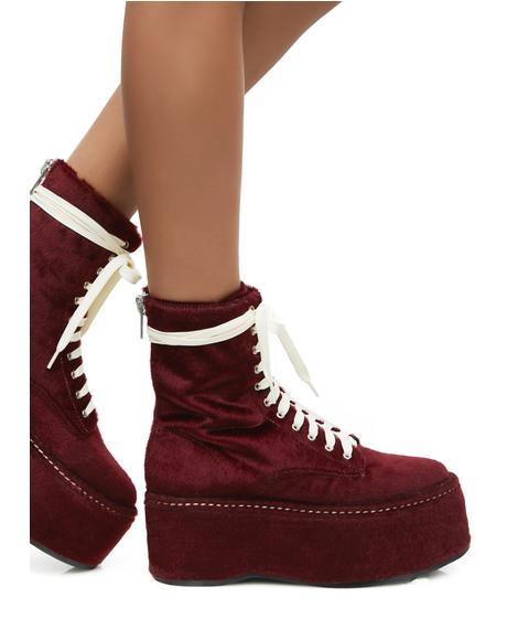 Schoolyard Stomper Platform Boots