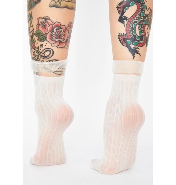 Princess Moment Sheer Socks