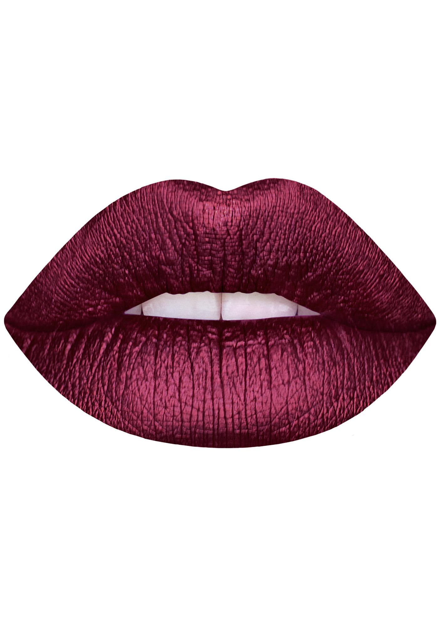 Lime Crime Raisin Hell Metallic Velvetine Liquid Lipstick