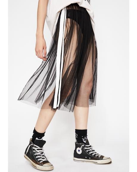 Punk Mistress Tulle Skirt
