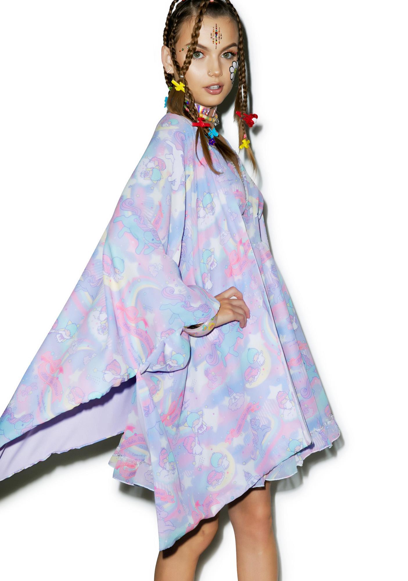 Japan L.A. Little Twin Stars Dreamy Unicorn Kimono