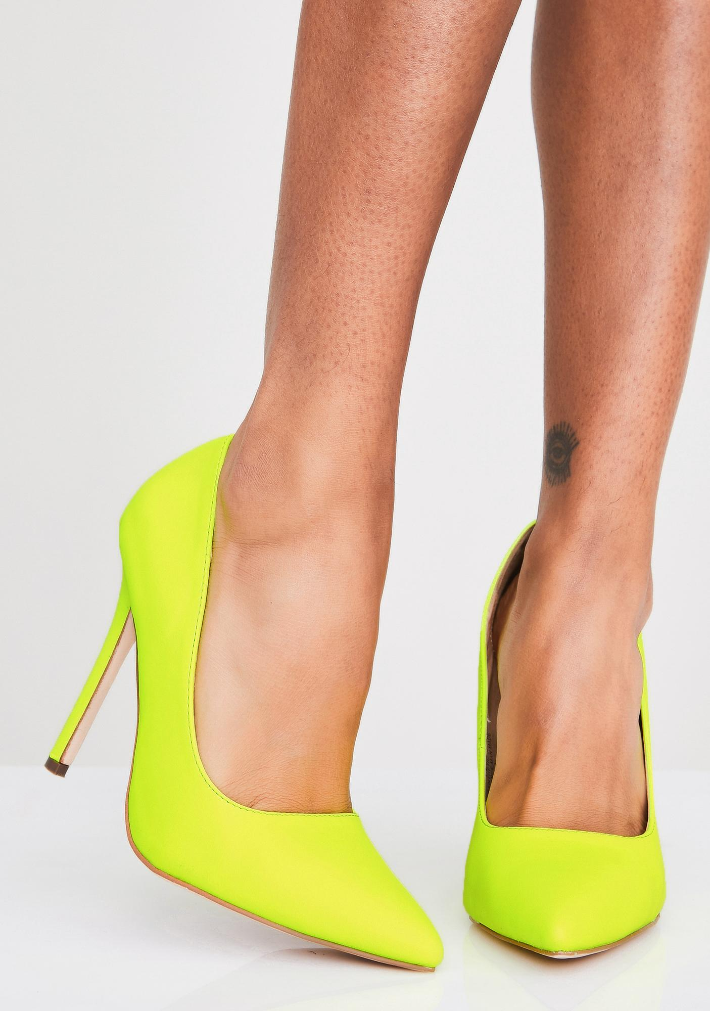 Sour Bish'ness Casual Stilettos