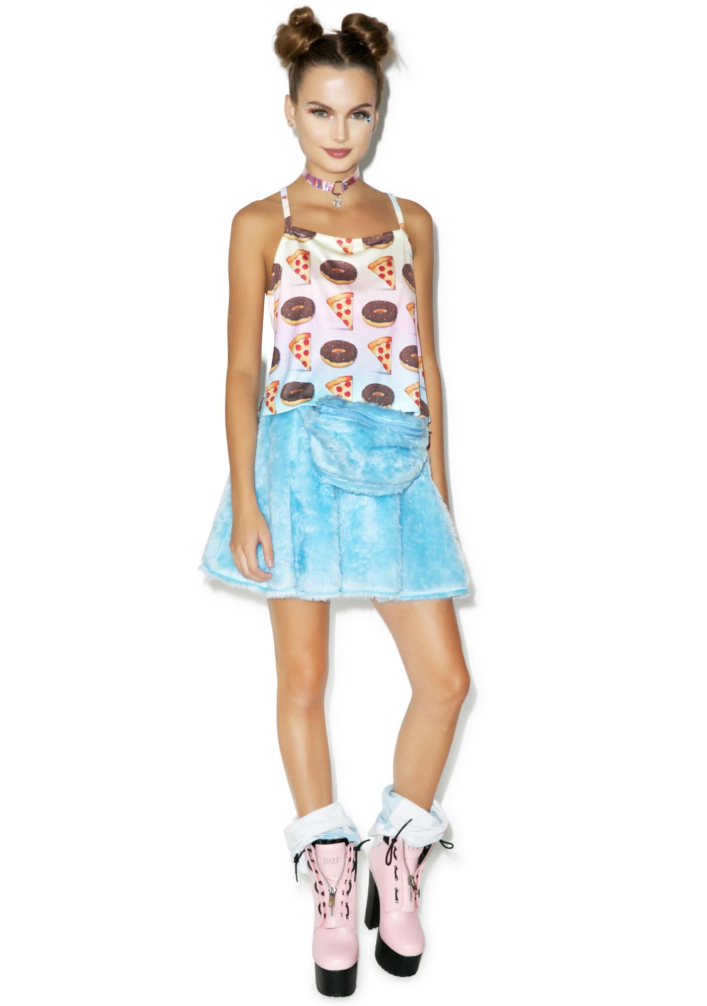 Pizza Plus Donuts Tank Top