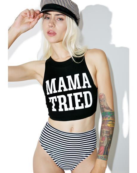 Mama Tried Crop Set