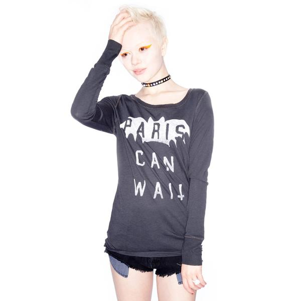 Zoe Karssen Paris Can Wait Long Sleeve
