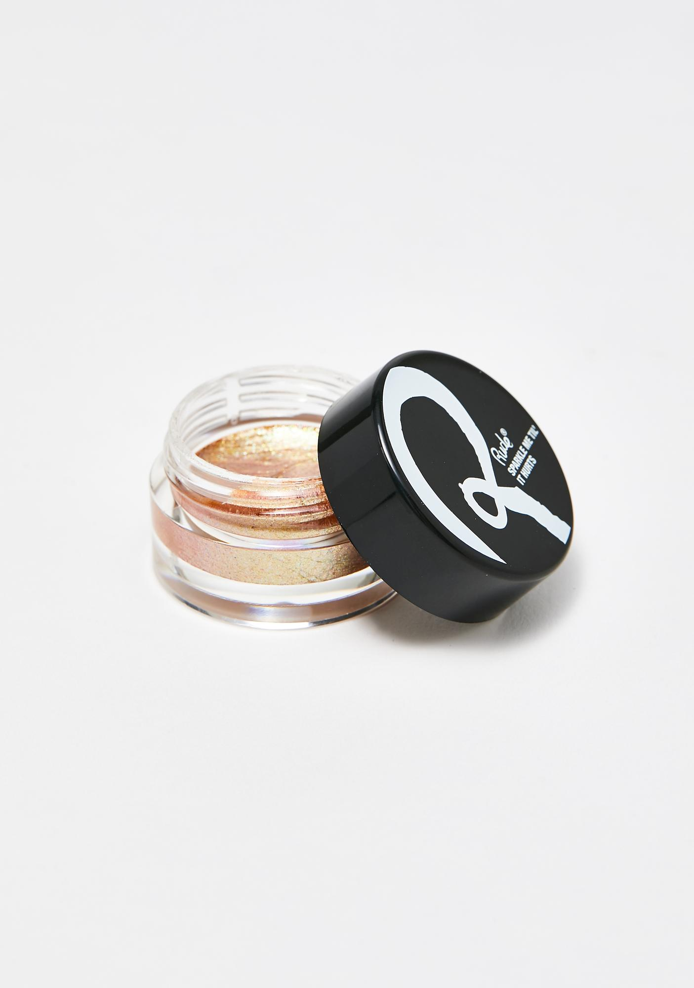 Rude Cosmetics Latex Sparkle Me Til' It Hurts Face N' Body Shimmer