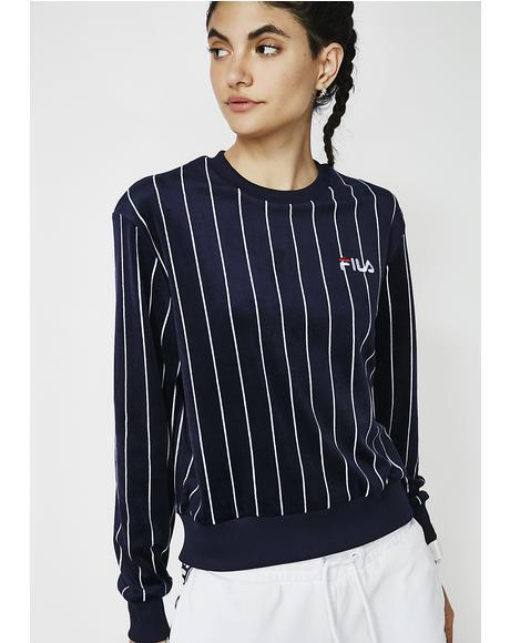 Parker Velour Sweatshirt
