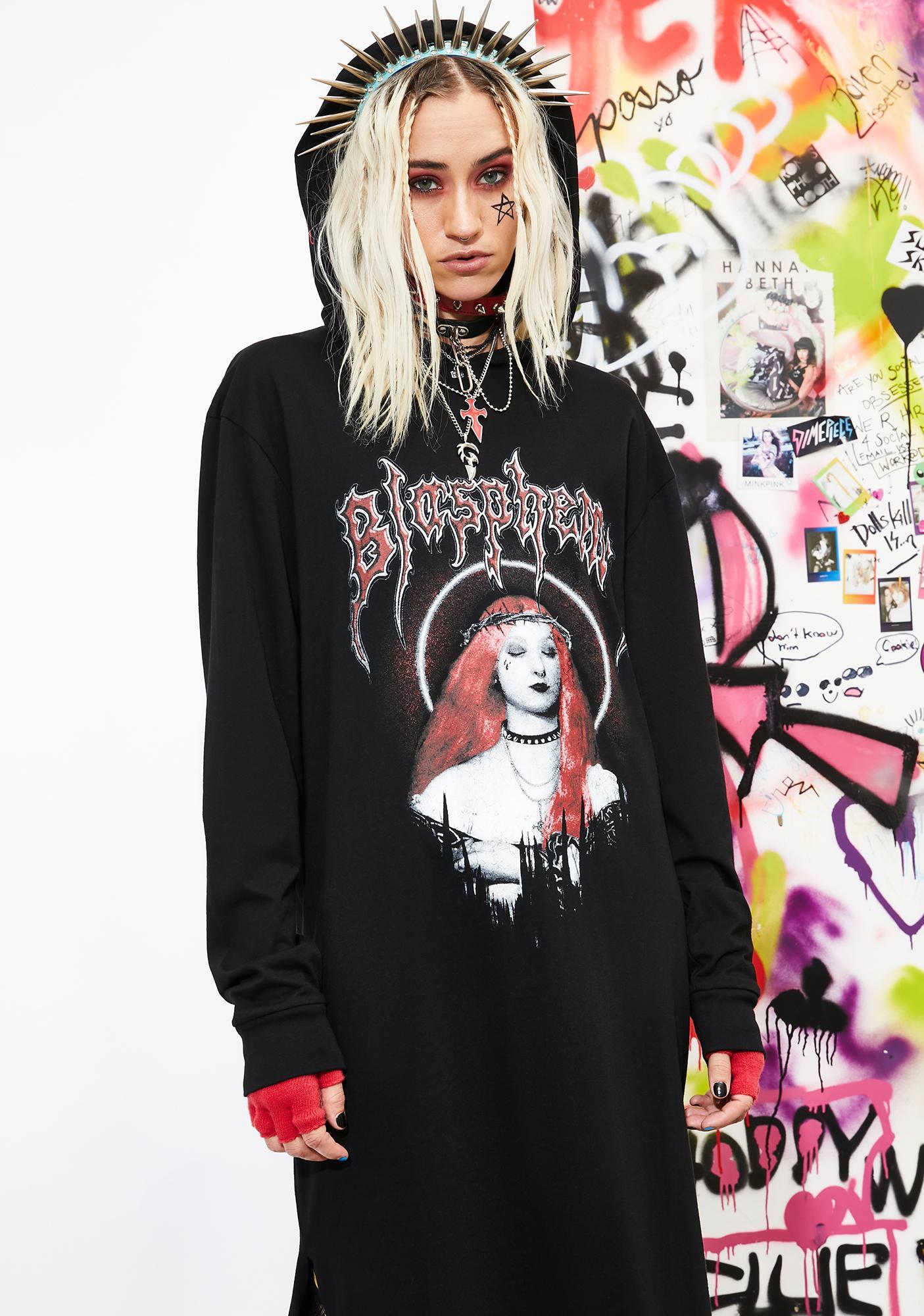 Current Mood Total Blasphemy Maxi Dress