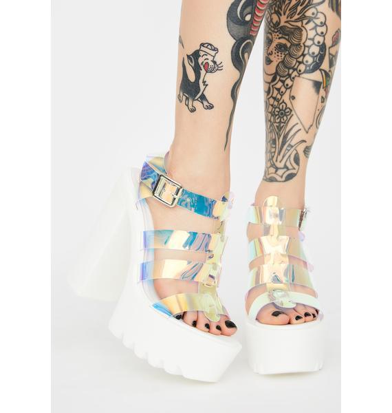 Boo Let Me Clarify Platform Heels