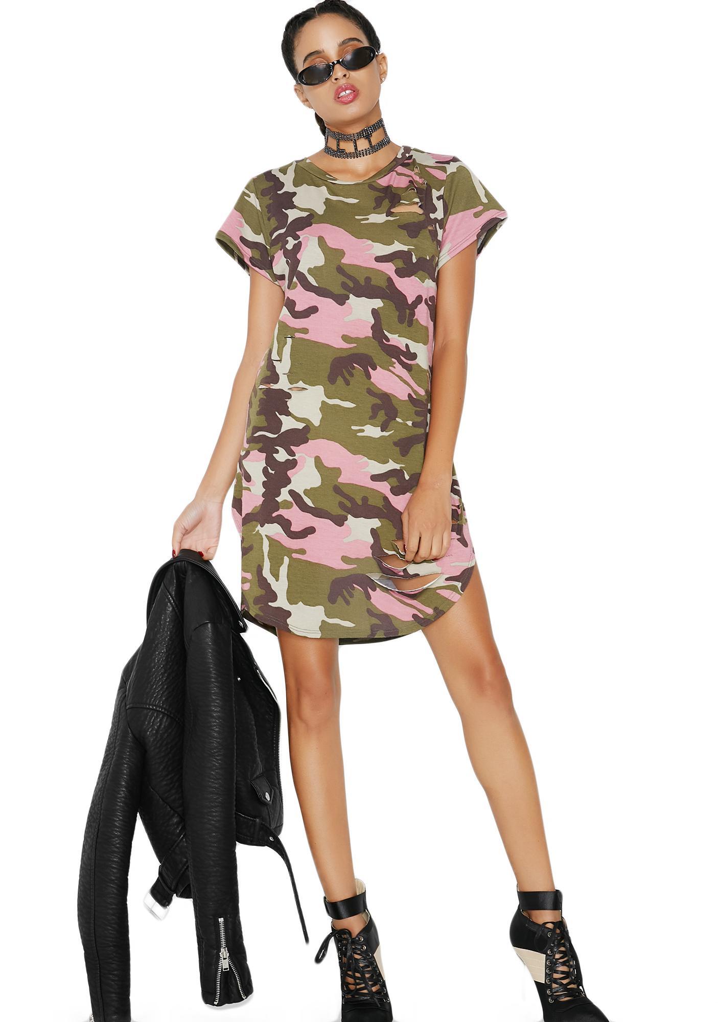 Ceasefire Camo Dress