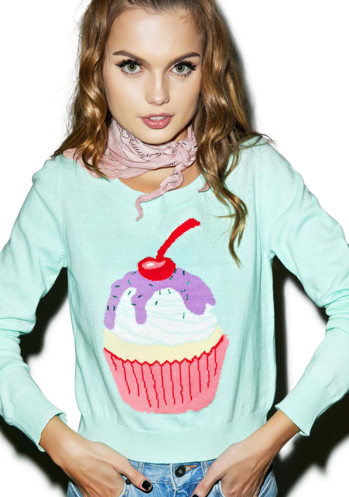 Iron Fist Hello Cupcake Sweater
