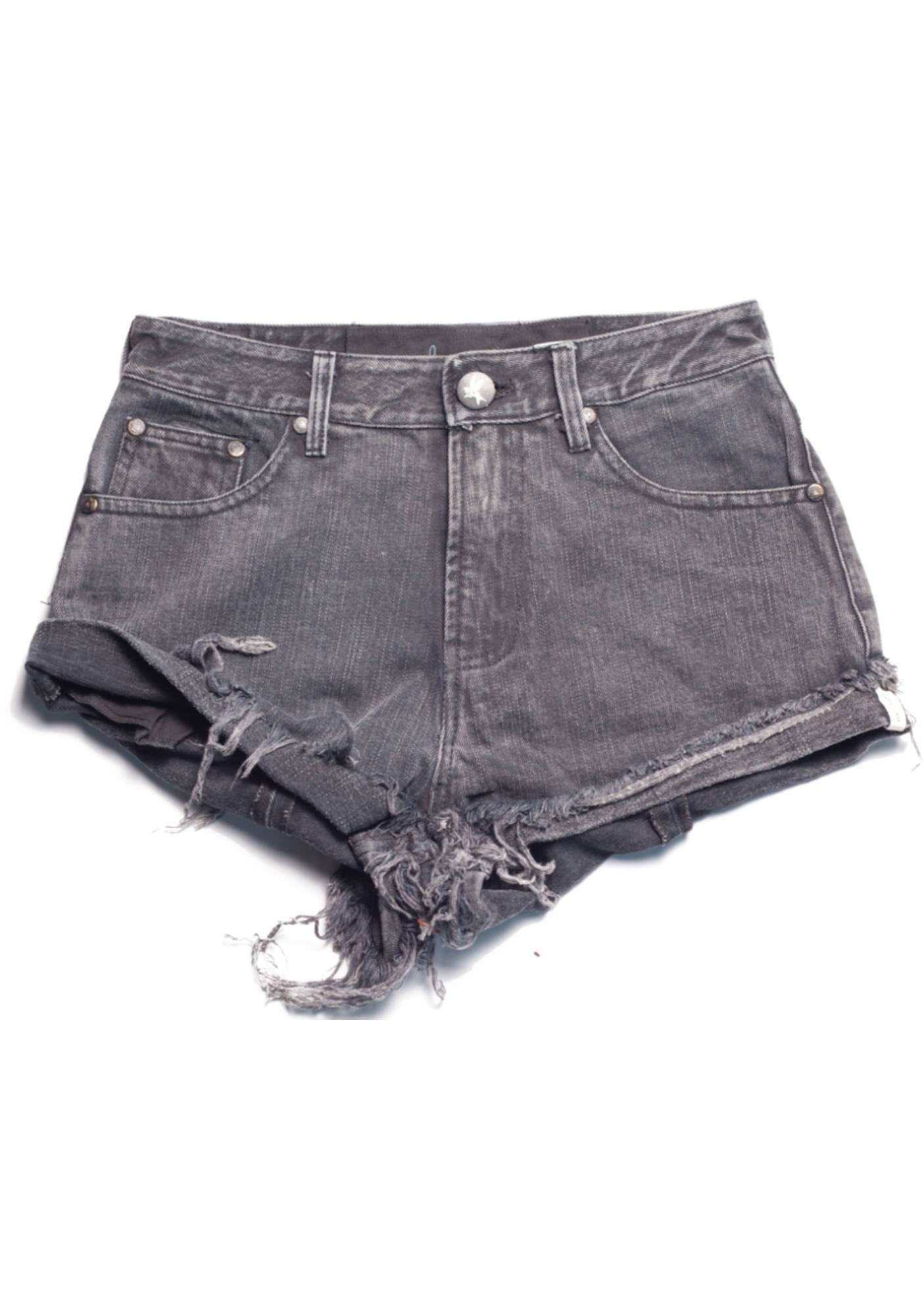 One Teaspoon Salvage Bandits Shorts
