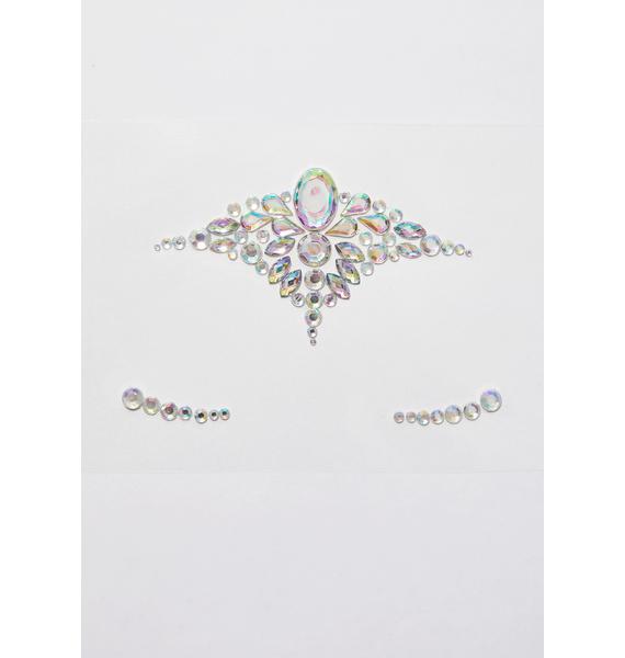Glitter Disco Child Crystal Pixie Face Gems